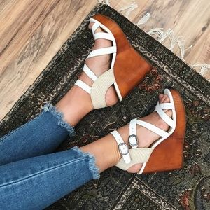 [Lucky Brand] wedge sandals